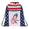Patriotic Drawstring bag