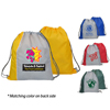 Reversible Two Tone Drawstring Backpack