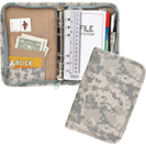 600D POLYESTER SMALL DIGITAL CAMO PLANNER