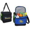 Deluxe 12-Can Stadium Cooler Bag with Both Side Mesh Pockets