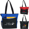 Convention Tote with Side Pockets and Pen Holders