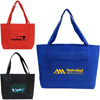 Solid Color Non Woven Open Tote