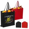 Bio Fold Non Woven Gusset Tote With Snap Closure